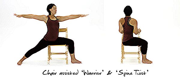 Chair Yoga Poses